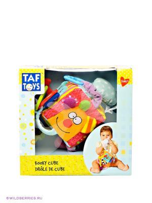 Кубик TAF TOYS. Цвет: желтый, голубой, красный