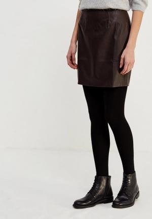 Юбка Ruxara. Цвет: коричневый