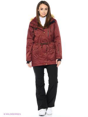 Куртка Stayer. Цвет: бордовый, коричневый, черный