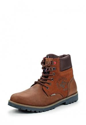 Ботинки Tommy Hilfiger. Цвет: коричневый