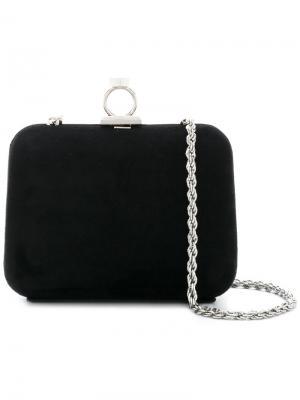 Rounded clutch bag Loriblu. Цвет: чёрный