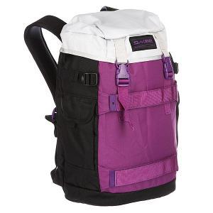 Рюкзак спортивный  Burnside Pbs Dakine. Цвет: белый,фиолетовый,черный