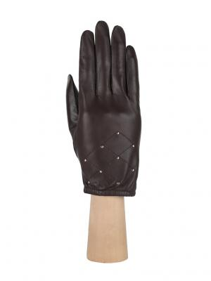 Перчатки Fabretti. Цвет: темно-коричневый