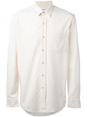 Рубашка с нагрудным карманом Our Legacy. Цвет: телесный