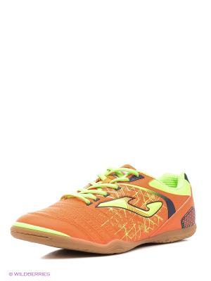 Футбольная Обувь Maxima Joma. Цвет: оранжевый, салатовый
