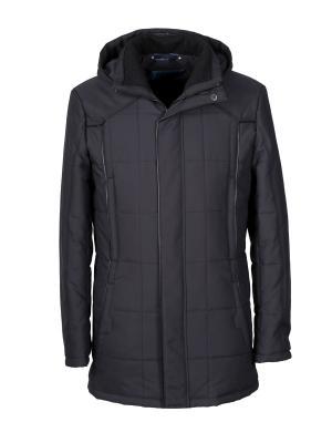 Куртка UID. Цвет: черный