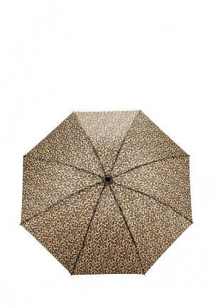 Зонт складной Modis. Цвет: коричневый