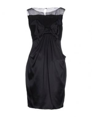 Короткое платье LOVE SEX MONEY. Цвет: темно-синий