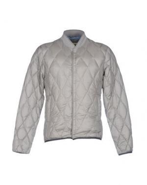Пуховик BPD BE PROUD OF THIS DRESS. Цвет: серый