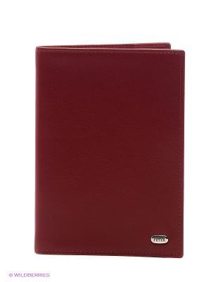 Обложка на паспорта Petek. Цвет: бордовый, серебристый, красный