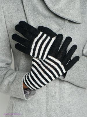 Перчатки Baon. Цвет: черный, белый