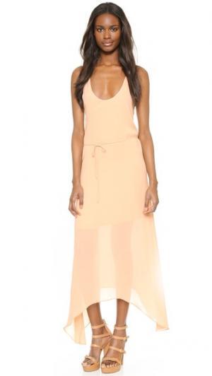 Платье Castanets Rory Beca. Цвет: розовый пластырь