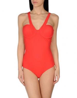 Слитный купальник MOEVA. Цвет: красный