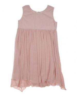 Платье LE PETIT COCO. Цвет: светло-розовый