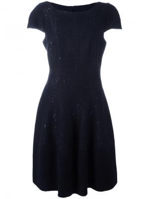 Платье Kovali Talbot Runhof. Цвет: синий