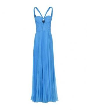 Длинное платье DSQUARED2. Цвет: бирюзовый