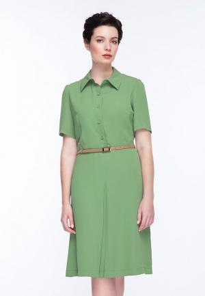 Платье Gregory. Цвет: зеленый
