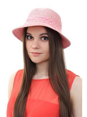 Шляпа Gusachi. Цвет: розовый, белый