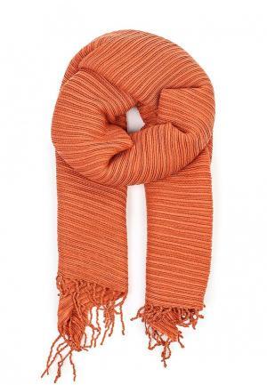 Палантин Zarina. Цвет: оранжевый