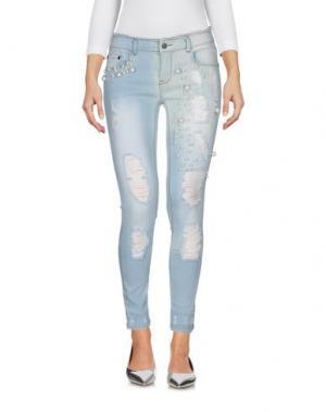 Джинсовые брюки SWEET SECRETS. Цвет: синий