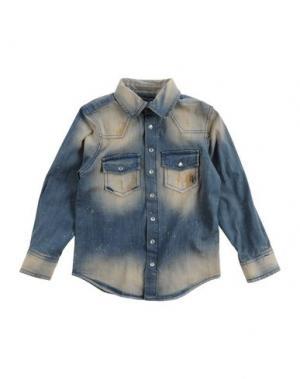 Джинсовая рубашка GRANT GARÇON. Цвет: синий