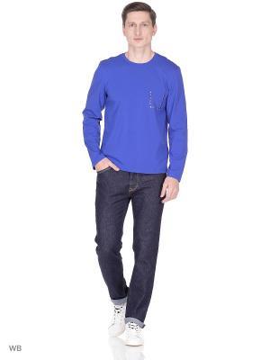 Лонгслив D.S. Цвет: синий