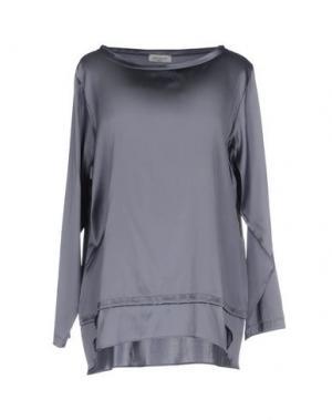 Блузка ROSSO35. Цвет: серый