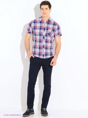 Рубашка Dairos. Цвет: красный
