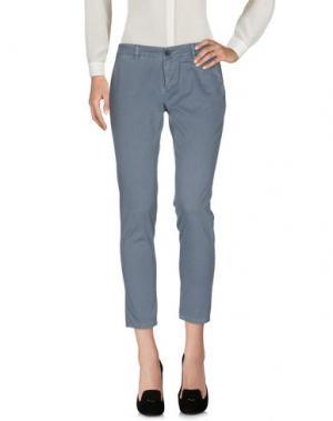 Повседневные брюки INX #THINK COLORED. Цвет: пастельно-синий