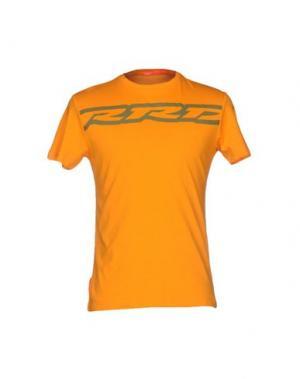 Футболка RRD. Цвет: оранжевый