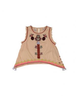 Блузка SCOTCH R'BELLE. Цвет: абрикосовый