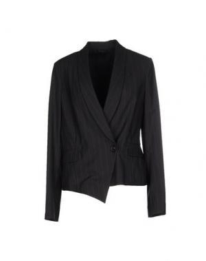 Пиджак BRUNELLO CUCINELLI. Цвет: стальной серый