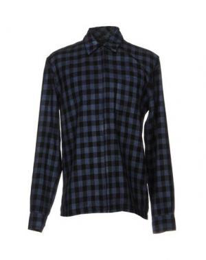 Pубашка FRENCH CONNECTION. Цвет: темно-синий