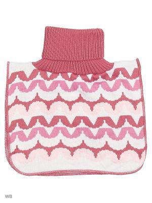Манишка детская для девочки Bizon. Цвет: бордовый