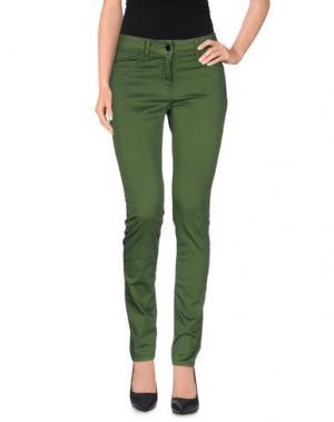 Повседневные брюки LIVIANA CONTI. Цвет: зеленый-милитари