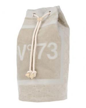 Рюкзаки и сумки на пояс V° 73. Цвет: светло-серый