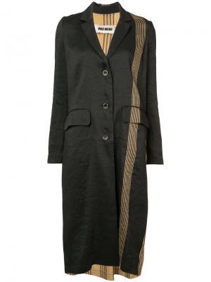 Пальто Chioma Uma Wang. Цвет: чёрный