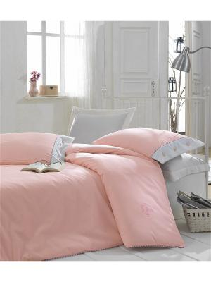 Постельное белье Cotton Box. Цвет: розовый