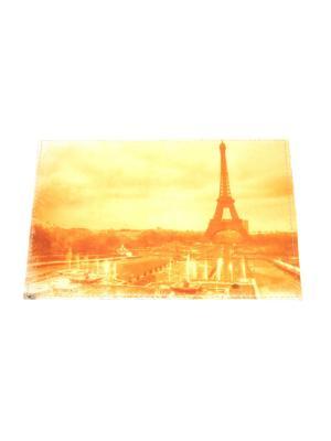Обложка на паспорт Lola. Цвет: желтый, коричневый
