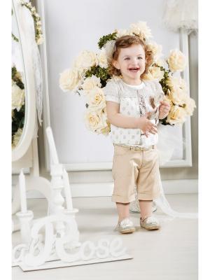 Комплект Baby Rose. Цвет: бежевый