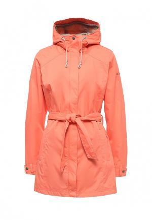 Куртка Columbia. Цвет: коралловый