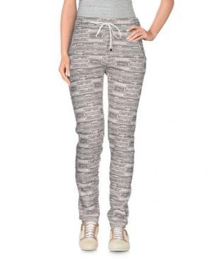 Повседневные брюки LOT 78. Цвет: серый