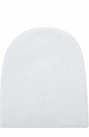 Кашемировая шапка бини Tegin. Цвет: светло-голубой