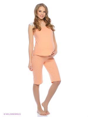 Пижама Hunny Mammy. Цвет: оранжевый