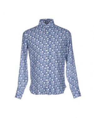 Pубашка GUGLIELMINOTTI. Цвет: пастельно-синий
