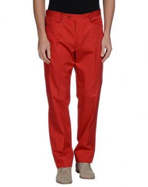 Повседневные брюки BROOKSFIELD. Цвет: красный