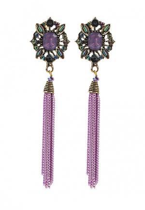 Серьги Kameo-Bis. Цвет: фиолетовый