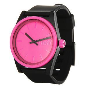 Кварцевые часы  Duo Watch Magenta Neff. Цвет: черный,розовый