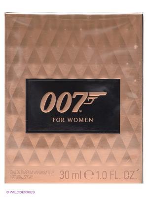 Парфюмерная вода James Bond Woman, 30 мл. Цвет: золотистый