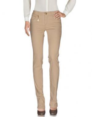 Повседневные брюки MARANI JEANS. Цвет: песочный
